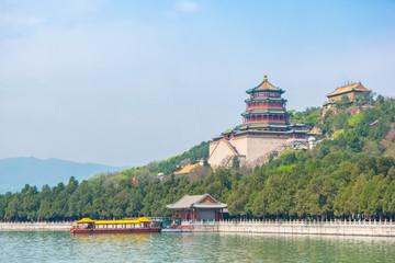 Summer Palace landmark of Beijing, China