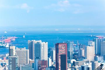 都市風景 都会 東京