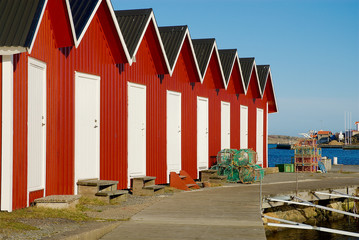 Architecture on the west coast in Sweden