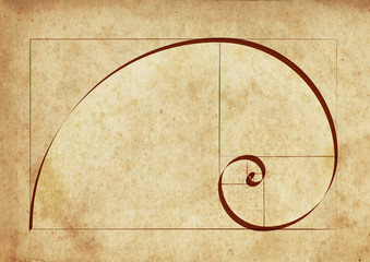 The Golden Spiral / Sacred Geometry on Ancient Script