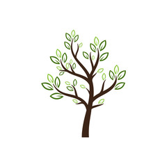 nature tree vector logo