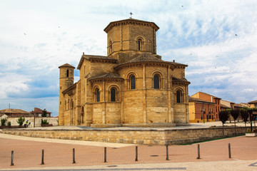Romanesque church. Fromista, Palencia. Spain