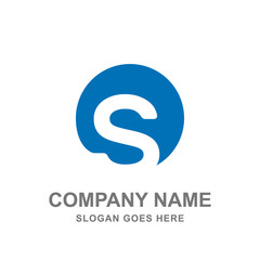 Letter S  Icon Logo Vector Design Business Template Company