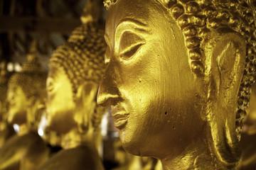 head of statue of buddha