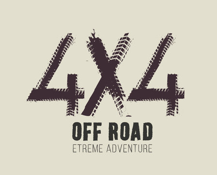 4x4 Lettering Image