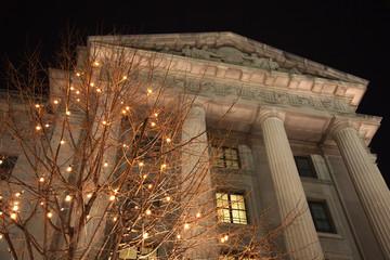 US Internal Revenue Service Building Federal Triangle Washington DC