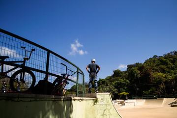 Pista de skate e patins no Parque das Mangabeiras, Belo Horizonte