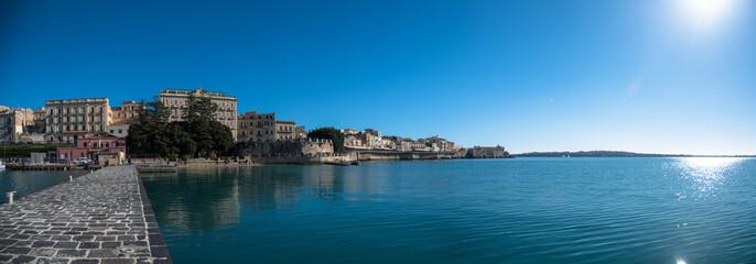 Syracuse Italy sicily panorama