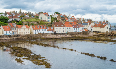 Scenic sight in Pittenweem, in Fife, on the east coast of Scotland.
