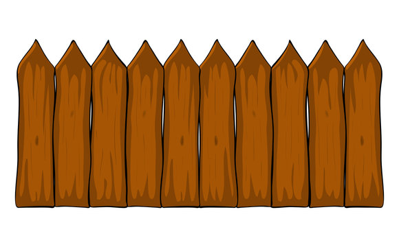 fence cartoon vector symbol icon design. Beautiful illustration isolated on white background