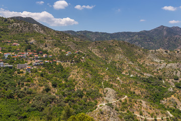 View of the village of Alona. Cyprus