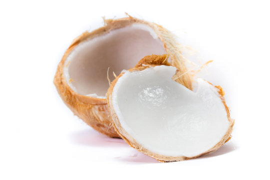 fresh young coconut meat