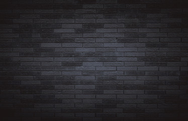 Dark brick wall for background