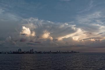 Storm approaching Havana