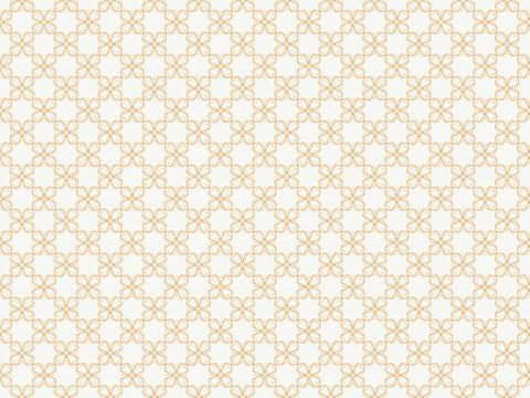 パターンCO00201 / ややハードなイメージでクラシカルなパターン。ベージュ、オレンジ。