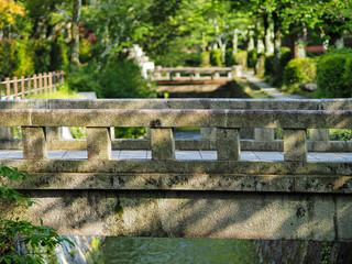 stone bridge in Kyoto