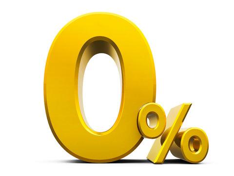 Gold Zero Percent #5
