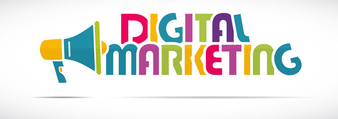mégaphone mot : Digital Marketing