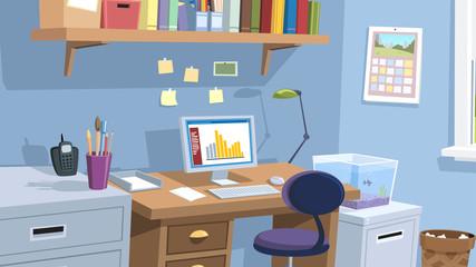 Home Office Flat Screen