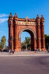 Foto op Aluminium Barcelona Arch Barcelona, Spain.