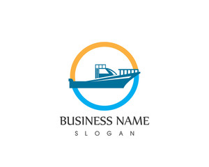 Boat Logo Design Template