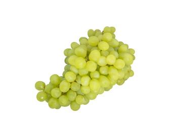 Grape white background