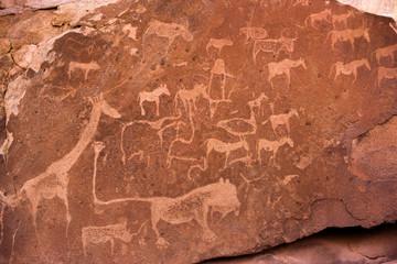 Twyfelfontein Rock Art - Damaraland -Namibia