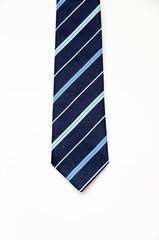 necktie father on White background