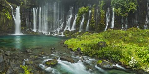 Shiraito Falls near Mount Fuji, Japan