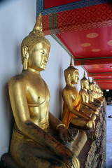 bouddha statues or bouddhisme thailande