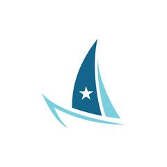 Boat ocean logo