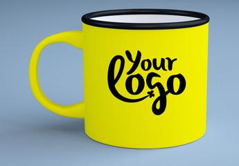 Enamel Mug Mockup 1