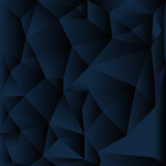Crystal and stone background. Gems, triangle, triangulation. Vector for the logo, background, business card.