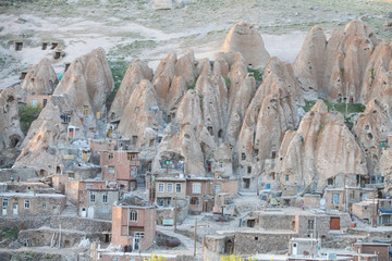 Houses in Kandovan, Iran.