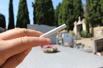 le tabagisme tue : cancer du poumon