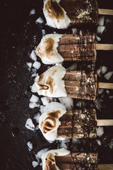 Dairy-Free S'mores Popsicles