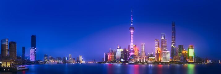 Shanghai skyline cityscape