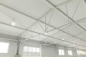 empty warehous, clean space