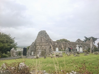 Ardmore cathedral ruin Co Waterford Ireland