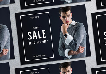 Sale Poster Layout 2