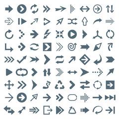 Arrow icons - Illustration