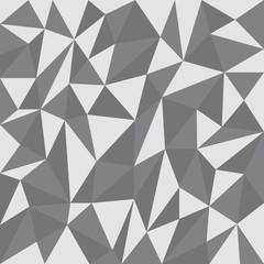 Gray geometric background – stock vector