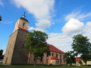 Stadtkirche in Zehdenick, Brandenburg, Deutschland