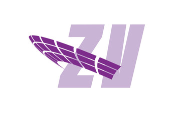 ZV Initial Logo for your startup venture