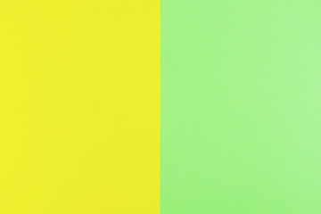 green paper background with yellow