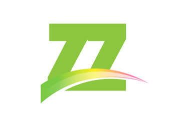 ZZ Initial Logo for your startup venture