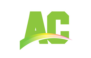 AC Initial Logo for your startup venture