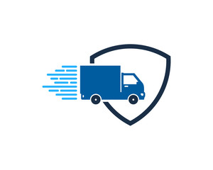 Delivery Protection Icon Logo Design Element