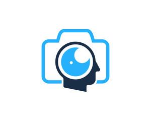 Human Photo Icon Logo Design Element
