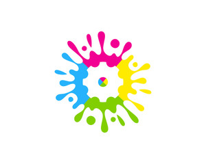 Tool Paint Icon Logo Design Element